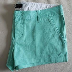 Mint green Volcom Shorts